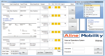 Bring multiple databases and systems into one set of Interfaces/Screens for easy administration!
